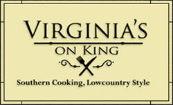 Virginias on King has great lowcountry meals